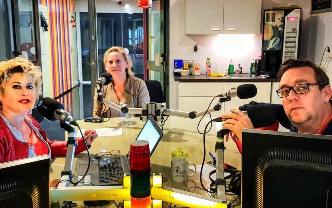 Radiouitzending bij OmroepN